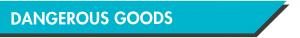 Dangerous Goods - substances governed by the UN